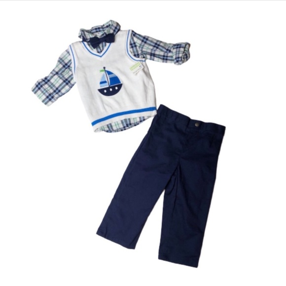 Outfit Baby Boy 3 pc Set Size 24 Months